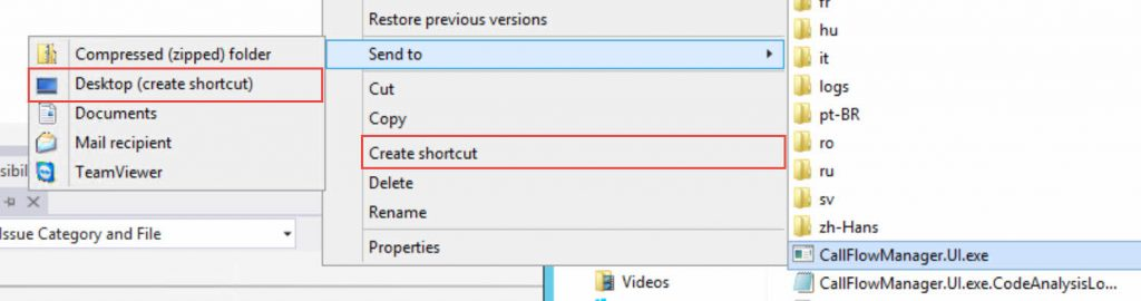 Call-Flow-Manager-Create-Shortcut