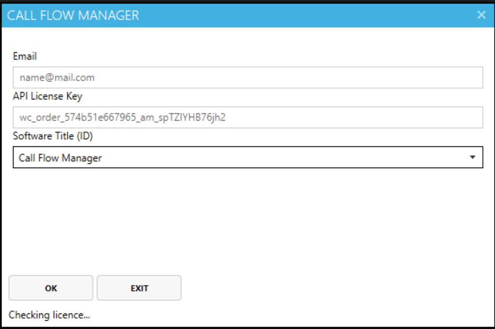 call-flow-manager-enter-licence-info